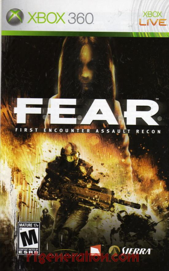 F.E.A.R.: First Encounter Assault Recon Manual Scan