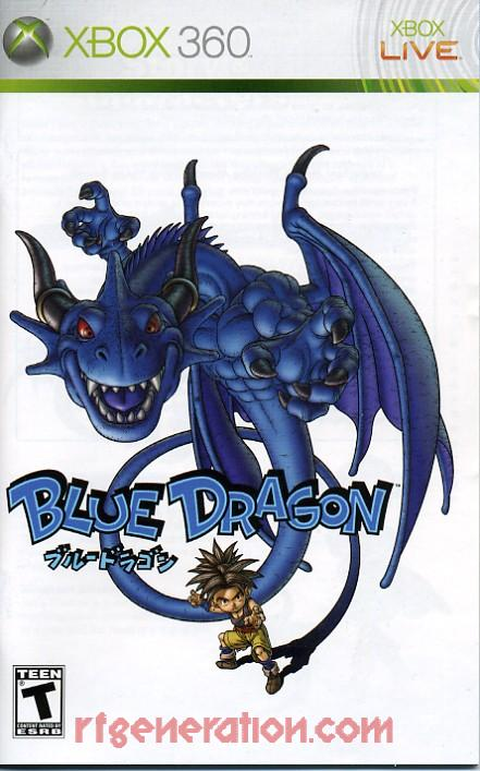 Blue Dragon Manual Scan