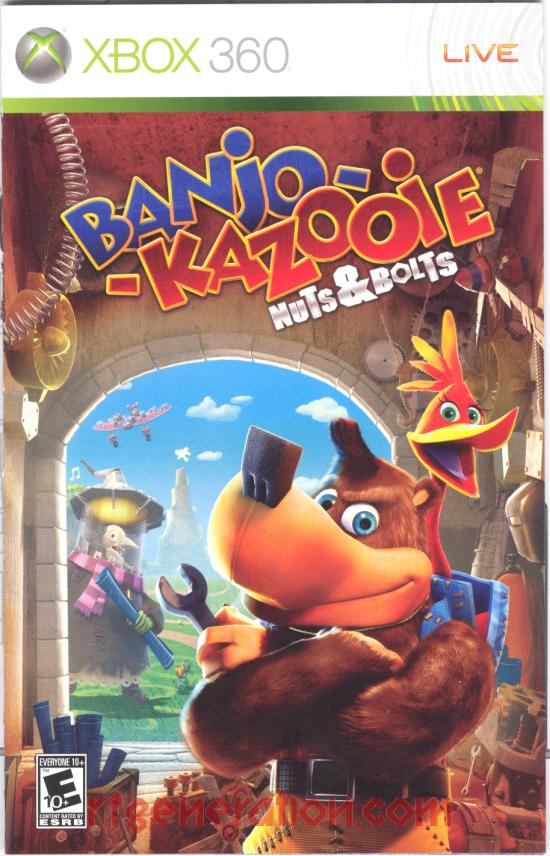 Banjo-Kazooie: Nuts & Bolts Manual Scan
