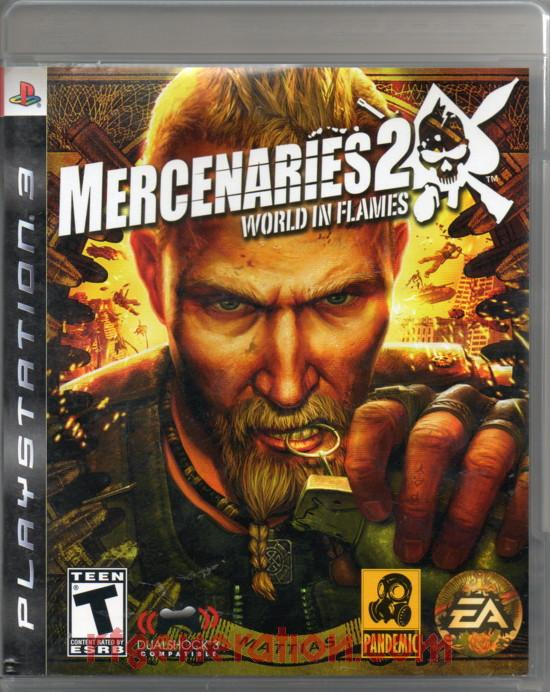Mercenaries 2: World In Flames Box Front