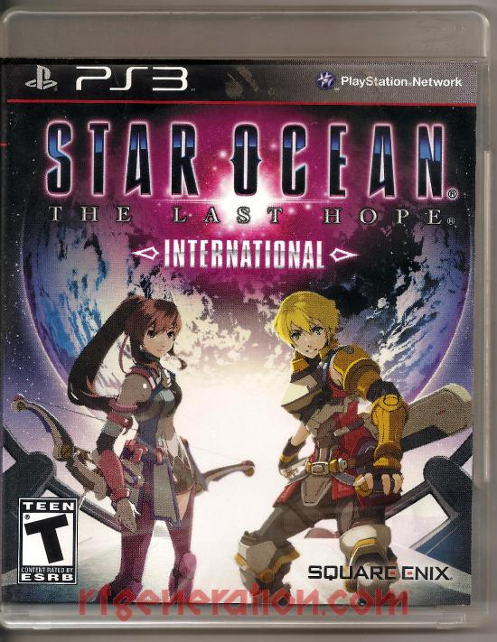 Star Ocean: The Last Hope - International Box Front