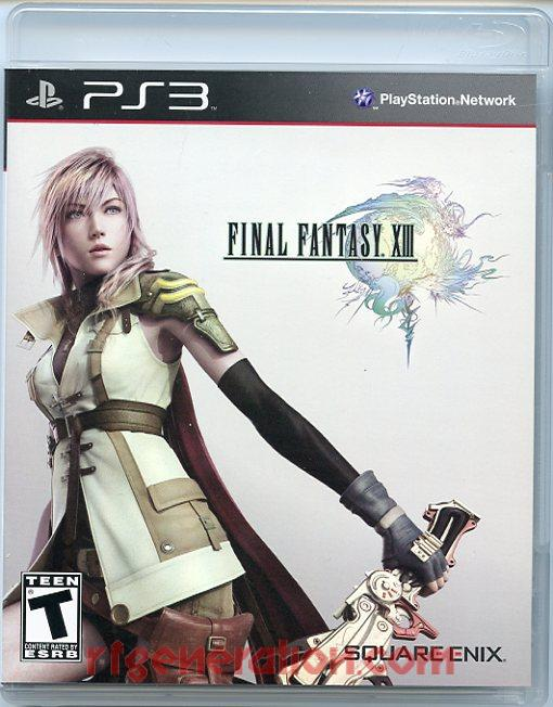 Final Fantasy XIII Box Front