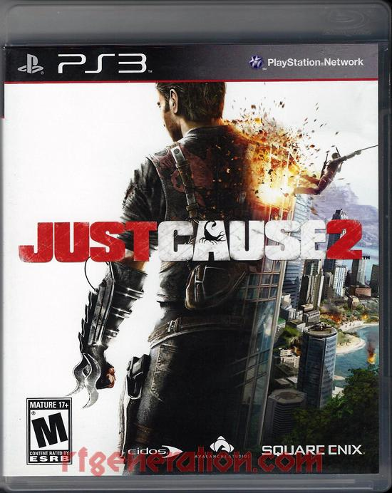 Just Cause 2 Box Front