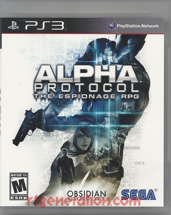 Alpha Protocol: The Espionage RPG Box Front