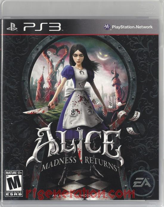 Alice: Madness Returns Box Front