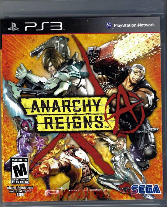 Anarchy Reigns Box Front
