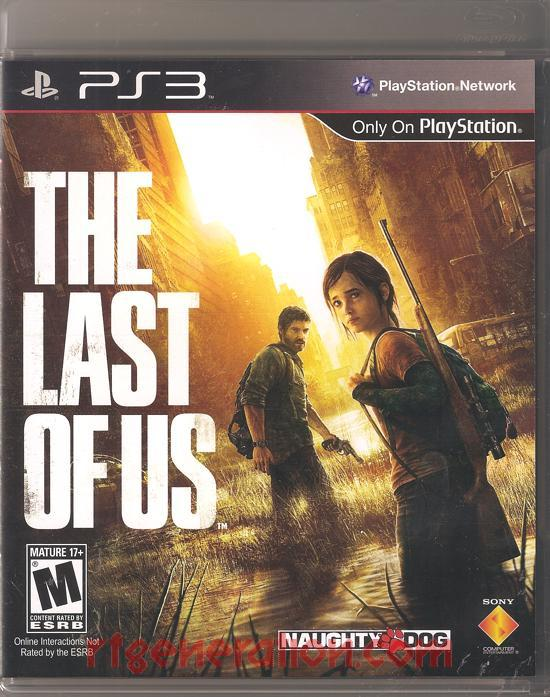 Last of Us, The Box Front
