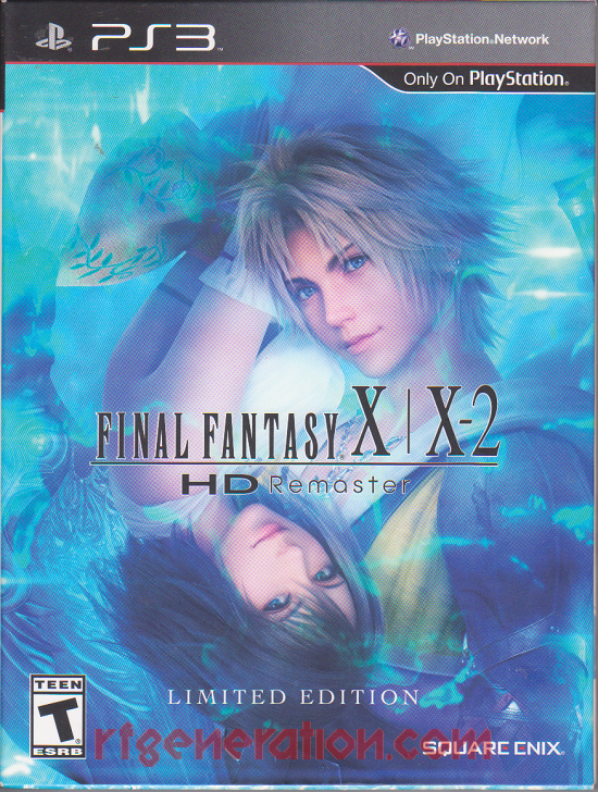 Final Fantasy X/X-2 HD Remaster <sup>[Limited Edition]</sup> Box Front