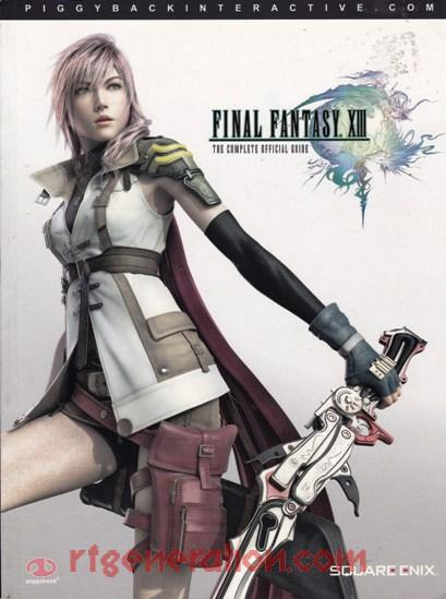 Final Fantasy XIII In-Game Screen