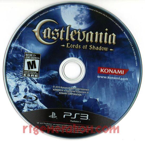 Castlevania: Lords of Shadow <sup>[Limited Edition]</sup> Game Scan