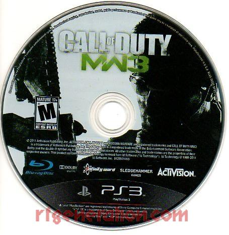 Call of Duty: Modern Warfare 3 Game Scan