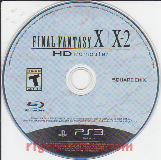 Final Fantasy X/X-2 HD Remaster <sup>[Limited Edition]</sup> Game Scan