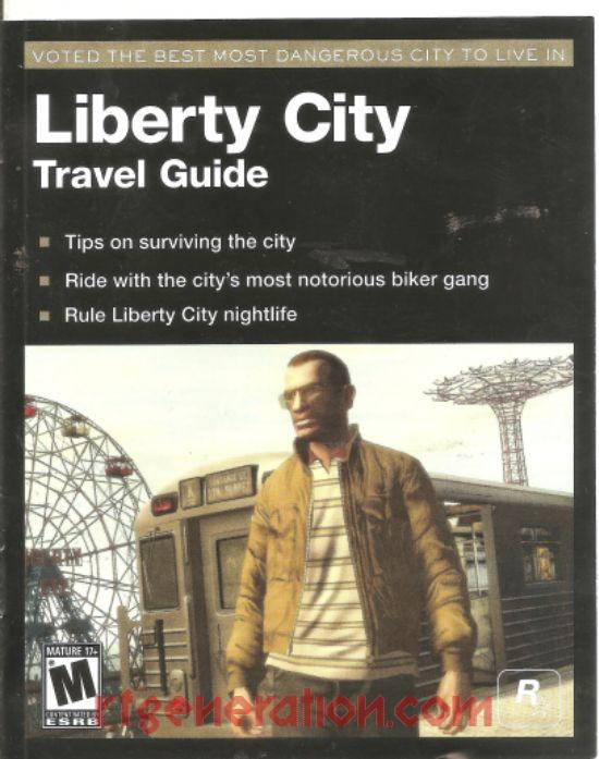 Grand Theft Auto IV: The Complete Edition Manual Scan