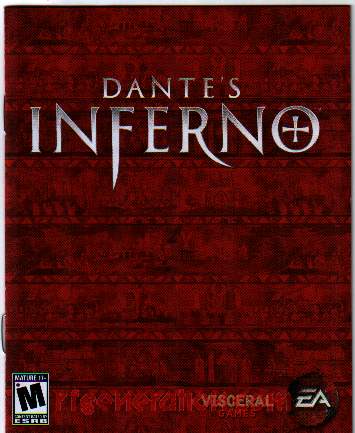 Dante's Inferno <sup>[Divine Edition]</sup> Manual Scan