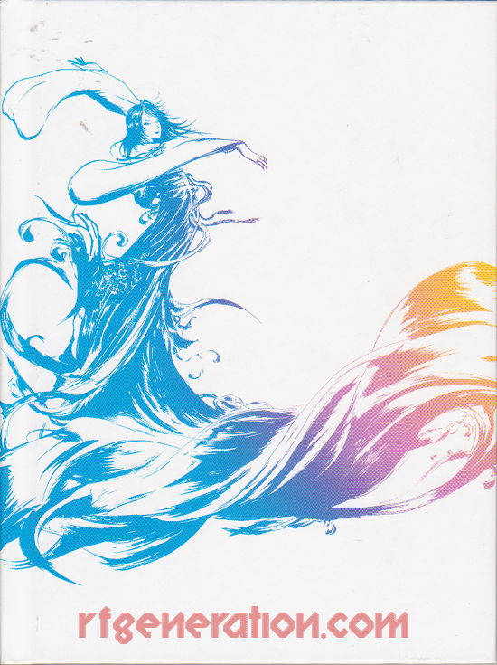 Final Fantasy X/X-2 HD Remaster <sup>[Limited Edition]</sup> Manual Scan