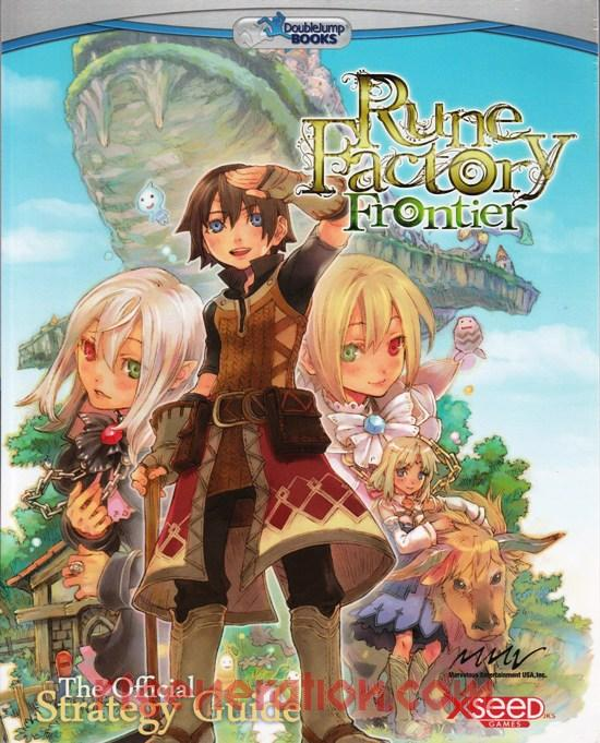 Rune Factory: Frontier In-Game Screen