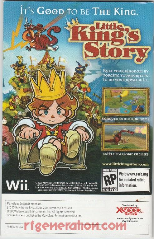 Little King's Story In-Game Screen