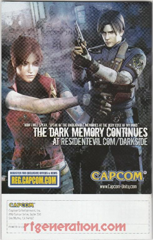 Resident Evil: The Darkside Chronicles In-Game Screen