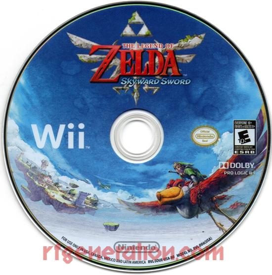 Legend of Zelda, The: Skyward Sword <sup>[Music CD]</sup> Game Scan