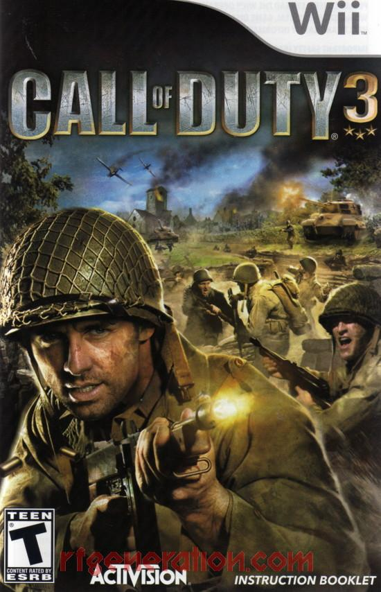 Call of Duty 3 Manual Scan