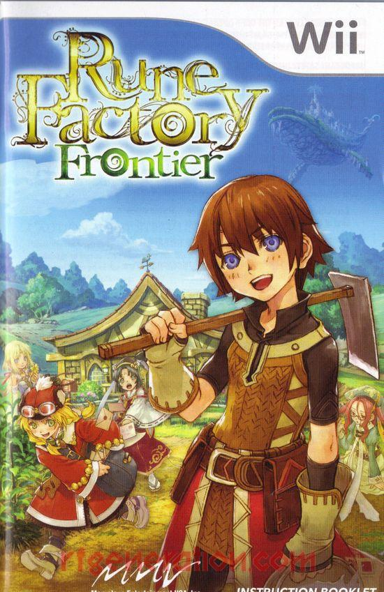 Rune Factory: Frontier Manual Scan