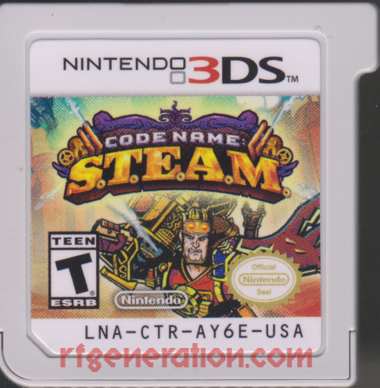 Code Name: S.T.E.A.M. Game Scan