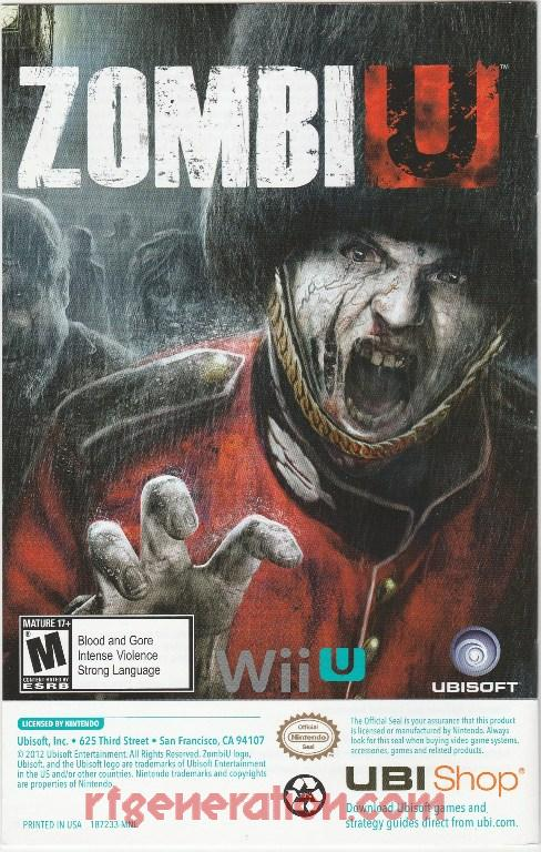 ZombiU In-Game Screen
