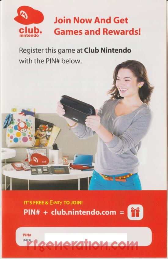 Wii Sports Club  In-Game Screen
