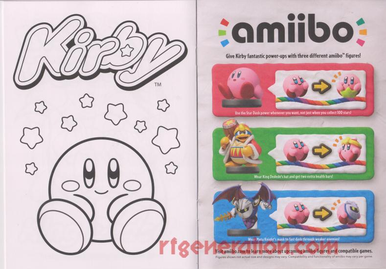 RF Generation: Kirby and the Rainbow Curse (Nintendo Wii U)