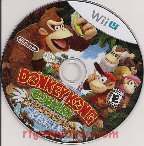 Donkey Kong Country: Tropical Freeze Game Scan