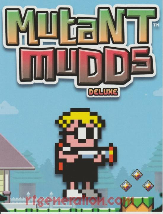 Mutant Mudds: Deluxe In-Game Screen