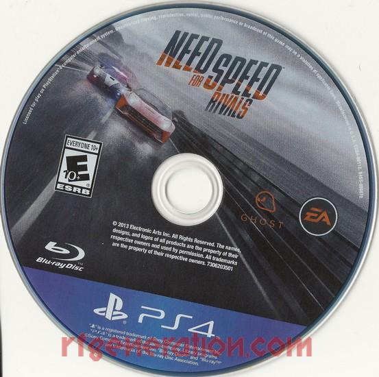 Need for Speed: Rivals Game Scan