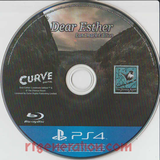 Dear Esther: Landmark Edition Game Scan