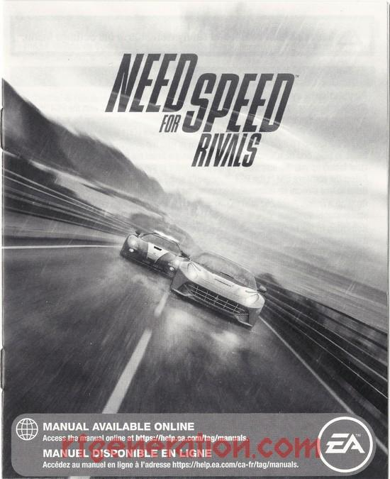 Need for Speed: Rivals Manual Scan