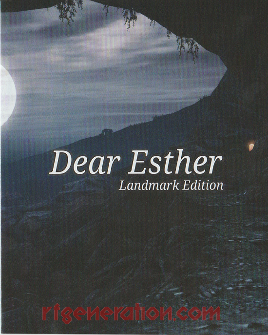 Dear Esther: Landmark Edition Manual Scan