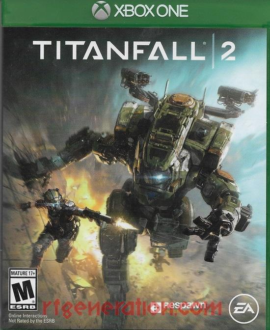 Titanfall 2 Box Front