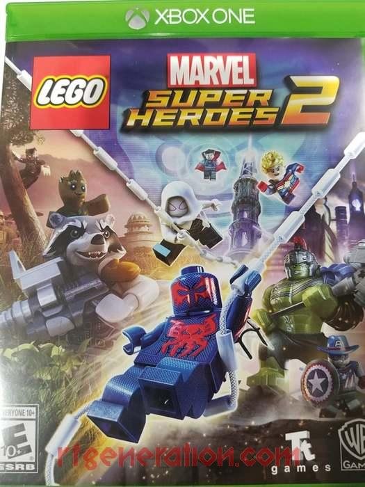 LEGO Marvel Super Heroes 2 Box Front