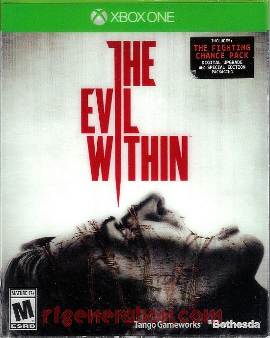 Evil Within, The In-Game Screen