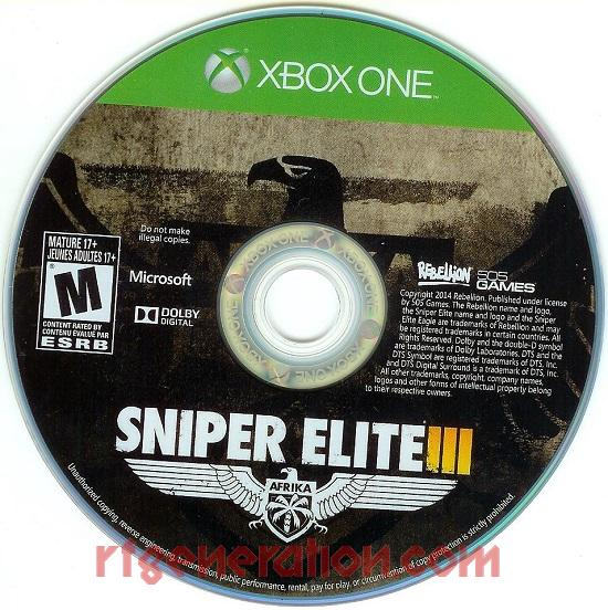 Sniper Elite III  Game Scan