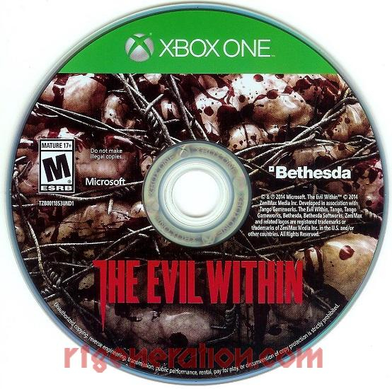 Evil Within, The Game Scan
