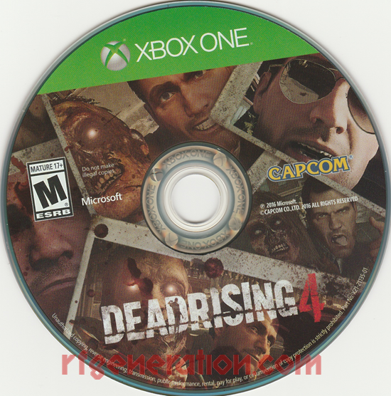 Dead Rising 4 Game Scan