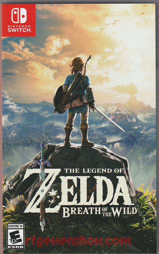Legend of Zelda, The: Breath of the Wild Box Front