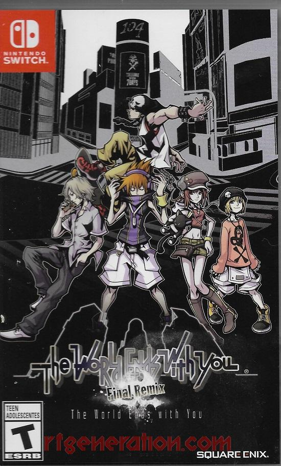 World Ends With You, The: Final Remix Box Front