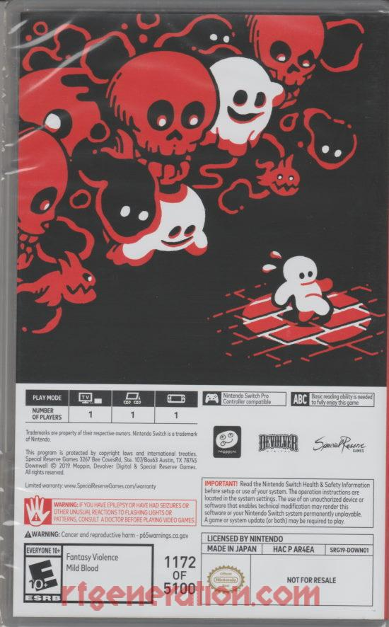 Downwell <sup>[SRG Boxed Edition]</sup> In-Game Screen