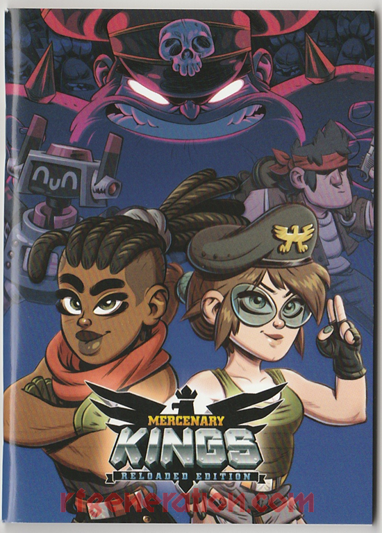 Mercenary Kings: Reloaded Edition Manual Scan