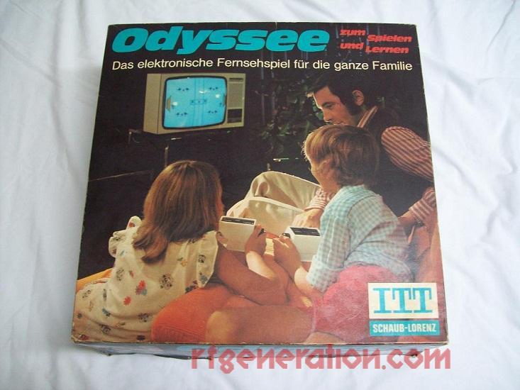 ITT Odyssee  Box Front Image