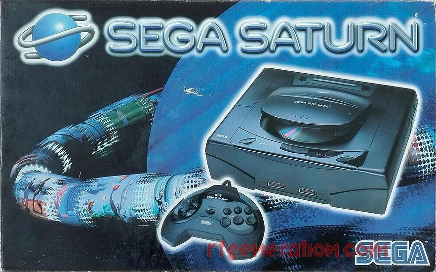 Sega Saturn Oval Buttons Box Front Image