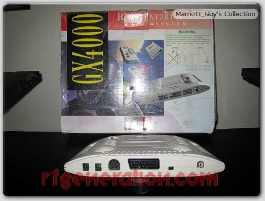 Amstrad GX4000  Box Back Image