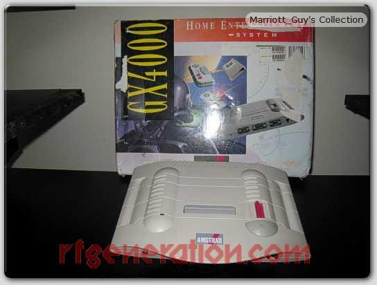 Amstrad GX4000  Box Front Image