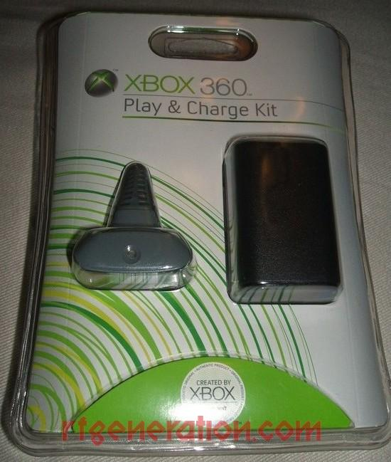 Play & Charge Kit Black Box Front Image